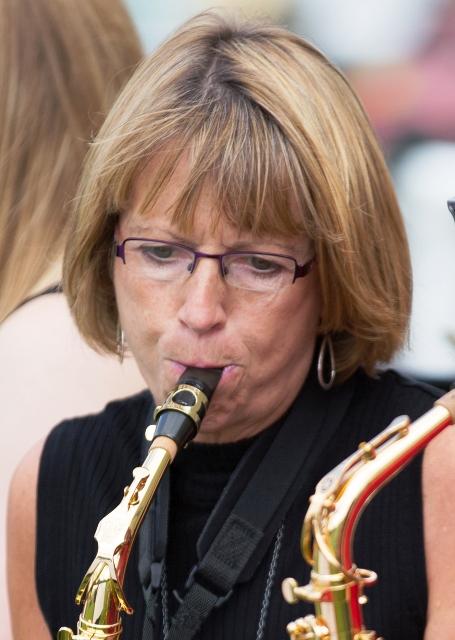 Nicky Barron - Alto Sax
