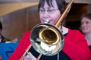 Penny plays the trombone. She once left an answer phone message at Buckingham Palace (for a legitimate reason).