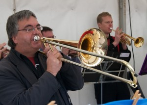 Ted plays the trombone and is probably the only brass player ever to fail to organise a piss-up in a brewery.